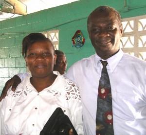 Pastor Lesly and Bernadette Bertrand