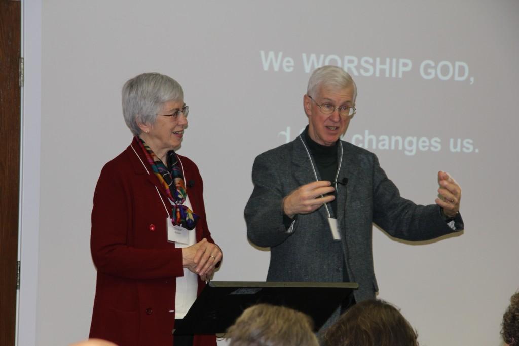 Alan and Eleanor Kreider