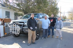 The truck you want for rescuing neighbors during Hurricane Sandy