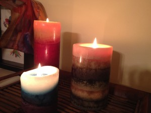candles in chaos