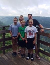 Jess McQuade and family